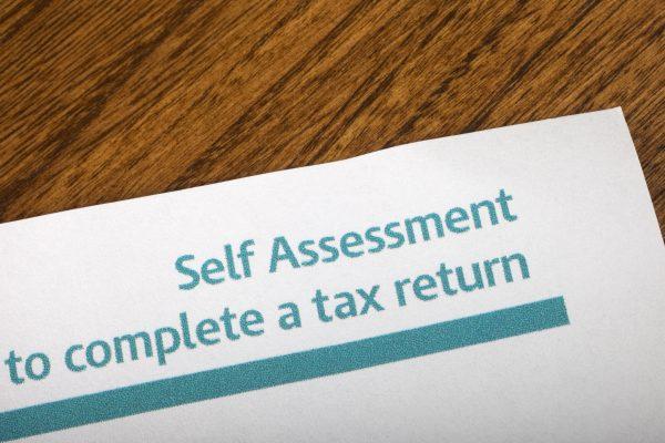 self assessment tax return image