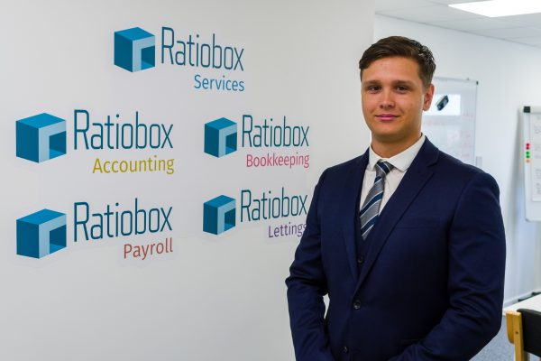 Ratiobox business development manager Oliver Oakshott